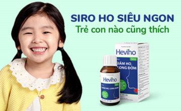 Giá bán Siro Heviho và cách sử dụng để đạt hiệu quả tốt