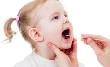 Trẻ bị viêm amidan- mẹ phải biết!