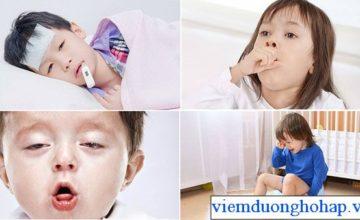 Trẻ bị viêm họng sốt cao – nguyên tắc điều trị