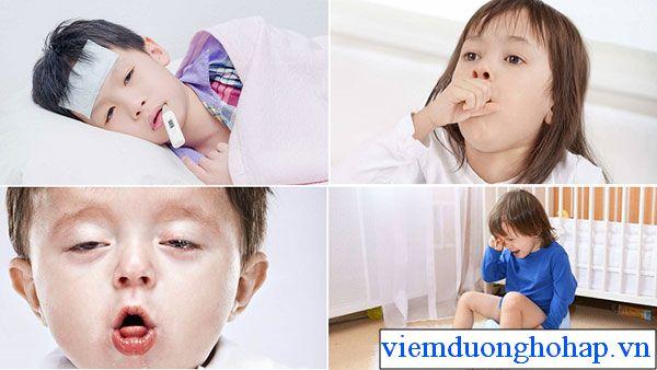 Các biểu hiện của trẻ khi viêm họng sốt cao